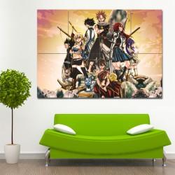 โปสเตอร์ ขนาดใหญ่ ภาพการ์ตูนอนิเมะ แฟรี่เทล Fairy Tail Manga  (P-0733)