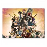 โปสเตอร์ ขนาดใหญ่ ภาพการ์ตูนอนิเมะ แฟรี่เทล Fairy Tail Manga Anime