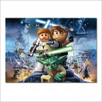 โปสเตอร์ ขนาดใหญ่ Lego Star Wars สตาร์วอร์