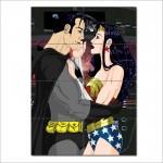 โปสเตอร์ ขนาดใหญ่ ภาพการ์ตูน Batman and Wonder Woman