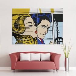 โปสเตอร์ ขนาดใหญ่ ภาพศิลปะ Roy Lichtenstein Pop Art (P-0764)