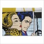 โปสเตอร์ ขนาดใหญ่ ภาพศิลปะ Roy Lichtenstein รอย ลิกเทนสไตน์ Pop Art