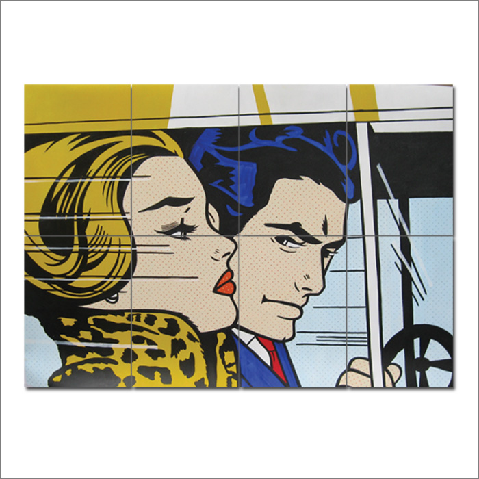 roy lichtenstein block giant wall art poster. Black Bedroom Furniture Sets. Home Design Ideas