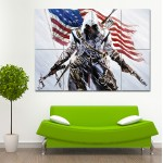 Assassin's Creed III Block Giant Wall Art Poster