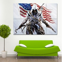 Assassin's Creed  III Block Giant Wall Art Poster (P-0770)