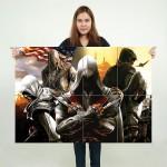 Assassin's Creed 4 Black Flag Block Giant Wall Art Poster