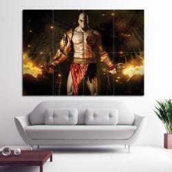 โปสเตอร์ ขนาดใหญ่ เกมส์ God Of War Adventure Kratos (P-0778)