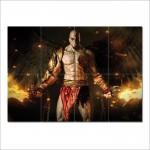 โปสเตอร์ ขนาดใหญ่ เกมส์ God Of War Adventure Kratos
