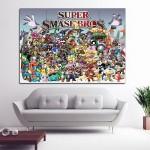 โปสเตอร์ ขนาดใหญ่ เกมส์ Super Smash Bros ซูเปอร์สแมชบราเธอร์