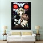 โปสเตอร์ ขนาดใหญ่ ภาพการ์ตูนอนิเมะ Death Note เดธโน้ต
