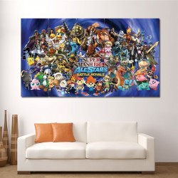Super Smash Bros All Stars Block Giant Wall Art Poster (P-0793)
