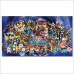 โปสเตอร์ ขนาดใหญ่ เกมส์ Super Smash Bros All Stars ซูเปอร์สแมชบราเธอร์