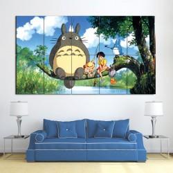 My Neighbor Totoro Anime Manga Block Giant Wall Art Poster (P-0796)