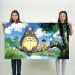 โปสเตอร์ ขนาดใหญ่  ภาพการ์ตูน Totoro Anime Manga