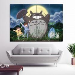 โปสเตอร์ ขนาดใหญ่ ภาพการ์ตูน โทโทโร่เพื่อนรัก Totoro Anime Manga (P-0799)