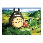 โปสเตอร์ ขนาดใหญ่ ภาพการ์ตูนอนิเมะ  โทโทโร่เพื่อนรักTotoro Anime Manga