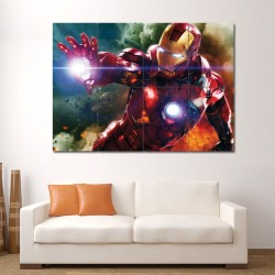 Iron Man II Block Giant Wall Art Poster (P-0805)