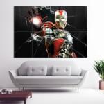 โปสเตอร์ ขนาดใหญ่ ภาพหนัง ไอรอนแมน Iron Man Mark V
