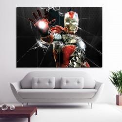 โปสเตอร์ ขนาดใหญ่ ภาพหนัง ไอรอนแมน Iron Man Mark V  (P-0807)