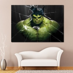 The Avenger Hulk Block Giant Wall Art Poster (P-0808)