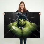 โปสเตอร์ ขนาดใหญ่ ภาพหนัง The Avenger Hulk ฮัลค์