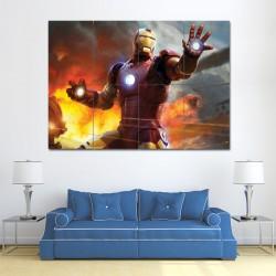โปสเตอร์ ขนาดใหญ่ ภาพหนัง ไอรอนแมน Iron Man Mark III (P-0812)