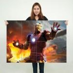 โปสเตอร์ ขนาดใหญ่ ภาพหนัง ไอรอนแมน Iron Man Mark III