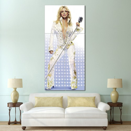 Britney Spears Block Giant Wall Art Poster