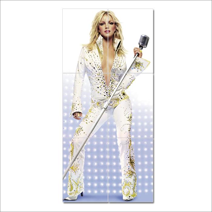 Britney Spears Block Giant Wall Art Poster