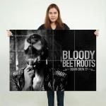 โปสเตอร์ ขนาดใหญ่ ภาพ The Bloody Beetroots