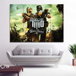 Army Of Two Block Giant Wall Art Poster (P-0851)
