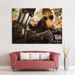 Army of Two Block Giant Wall Art Poster (P-0852)