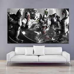 Batman Arkham City Block Giant Wall Art Poster (P-0872)