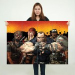 Borderlands Block Giant Wall Art Poster