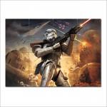 โปสเตอร์ ขนาดใหญ่  ภาพ Star Wars Battlefront Elite