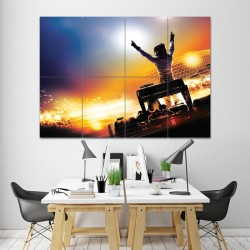 Formula One Block Giant Wall Art Poster (P-0884)