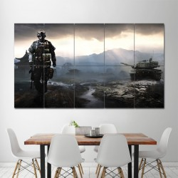 Battlefield 4 Block Giant Wall Art Poster (P-0885)