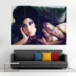 Amy Winehouse Hot Block Giant Wall Art Poster