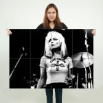 Blondie Debbie Harry Version 1 Block Giant Wall Art Poster