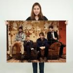 โปสเตอร์ ขนาดใหญ่ ภาพวงดนตรี Mumford and Sons