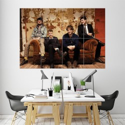 Mumford and Sons Version 2 Block Giant Wall Art Poster (P-0909)