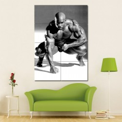 Bodybuilding Ronnie Coleman Block Giant Wall Art Poster (P-0913)