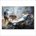 โปสเตอร์ ขนาดใหญ่ Metal Gear Rising เมทัลเกียร์