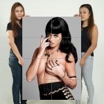 โปสเตอร์ ขนาดใหญ่ นักร้อง Katy Perry semi nude เคที เพร์รี