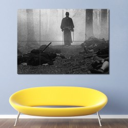 The Sword of Doom Samurai Block Giant Wall Art Poster (P-0934)