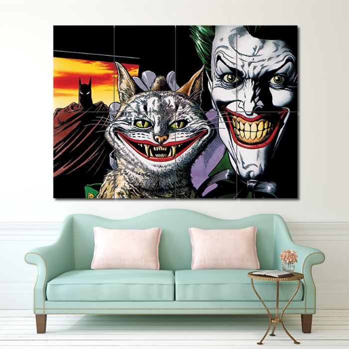 THE JOKER BATMAN  PRINT ART WALL PICTURE POSTER  GIANT HUGE