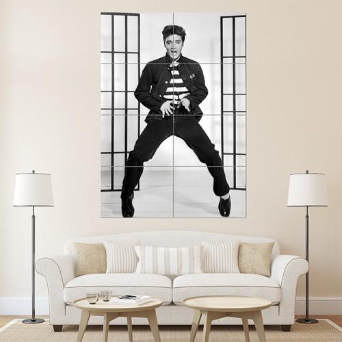 Elvis Presley Wand-Kunstdruck Riesenposter