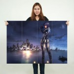 Ghost In The Shell Block Giant Wall Art Poster