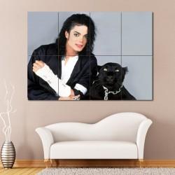 โปสเตอร์ ขนาดใหญ่ นักร้อง Michael Jackson  (P-0956)