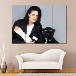 Michael Jackson Block Giant Wall Art Poster (P-0956)